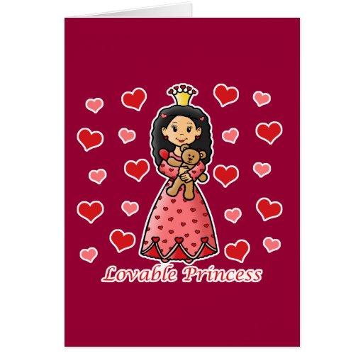 Lovable Princess Card