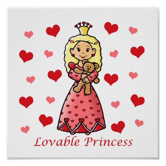 Lovable Princess Poster