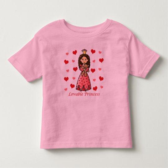 Lovable Princess Toddler T-shirt