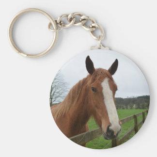 Lovable Quarter Horse Key Chains