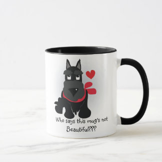 LOVABLE SCOTTIE MUG