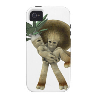 Lovable Vegetables - Carry me home iPhone 4 Cases
