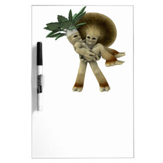 Lovable Vegetables - Carry me home Dry Erase Board