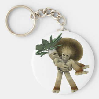 Lovable Vegetables - Carry me home Keychain