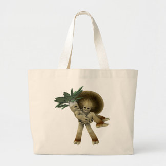Lovable Vegetables - Carry me home Large Tote Bag