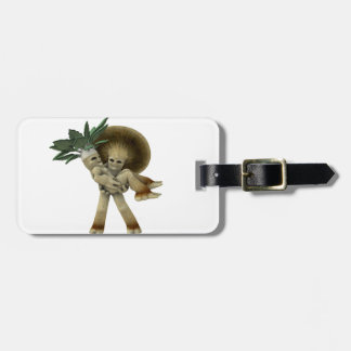 Lovable Vegetables - Carry me home Tag For Luggage
