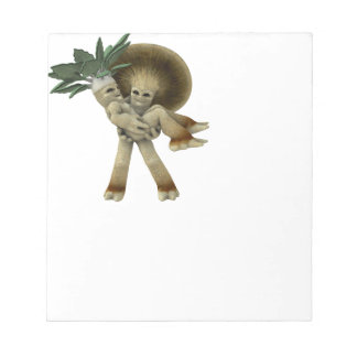 Lovable Vegetables - Carry me home Notepad