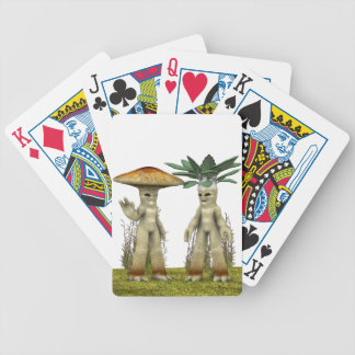 Lovable Vegetables - Waving Bicycle Playing Cards