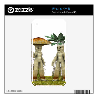 Lovable Vegetables - Waving Skin For The iPhone 4