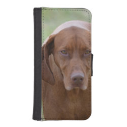 iPhone 5/5s Wallet Case with Vizsla Phone Cases design