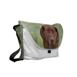 Lovable Vizsla Messenger Bag