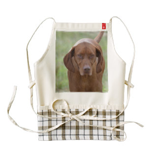 Lovable Vizsla Zazzle HEART Apron