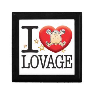 Lovage Love Man Jewelry Box