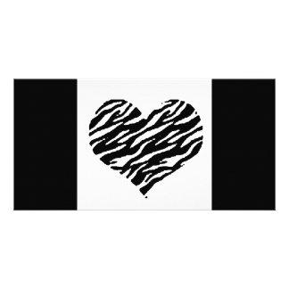 love057 - black & white card