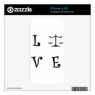 LOVE25 iPhone 4 SKIN