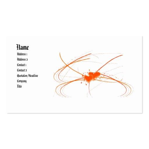 Love2 Profile Card Business Card