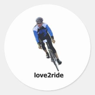 love2ride Sticker