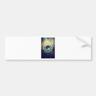 Love2Snap Peacock Feather Bumper Sticker