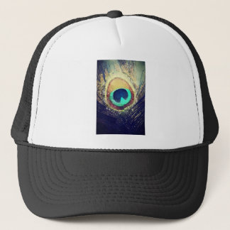 Love2Snap Peacock Feather Trucker Hat