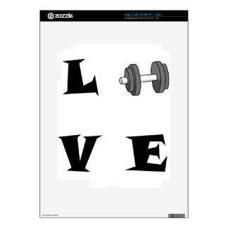 LOVE42 DECAL FOR THE iPad 2