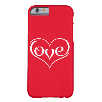 LOVE ♥ 02 ♥ iPhone 6/6s, Barely There Barely There iPhone 6 Case