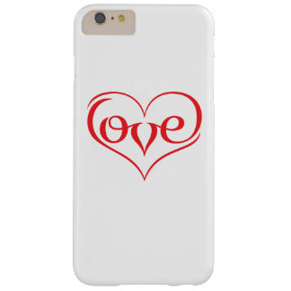 LOVE ♥ 02 ♥ iPhone 6/6s Plus Barely There iPhone 6 Plus Case