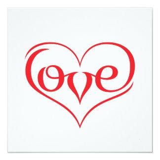 LOVE ♥ 02 ♥ Standard white envelopes Card