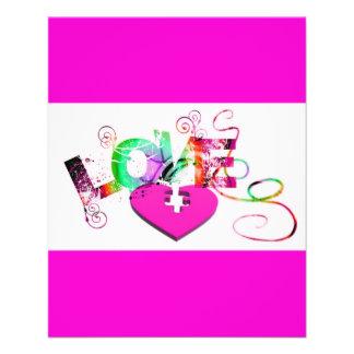 love-129534 GRUNGE TYPOGRAPHY RANDOM love romance Flyer Design