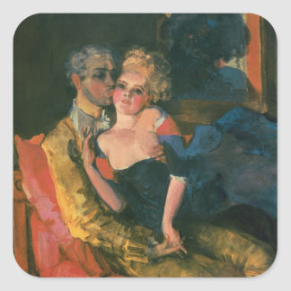 Love, 1910 square sticker