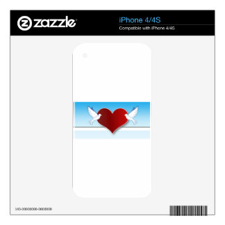 Love-198 Calcomanías Para El iPhone 4S
