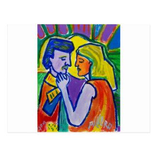 Love # 1 by Piliero Postcard