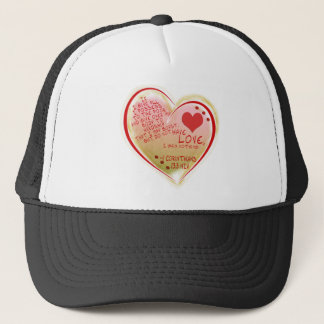 LOVE 1 Corinthians 13 :3 NIV Trucker Hat