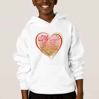 LOVE 1 Corinthians 13 :7 NIV FAITH HOPEFUL Hoodie