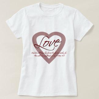 Love 1 Peter 4:8 T-Shirt