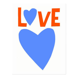 LOVE 1 POSTCARD