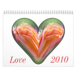 Love 2010 calendar