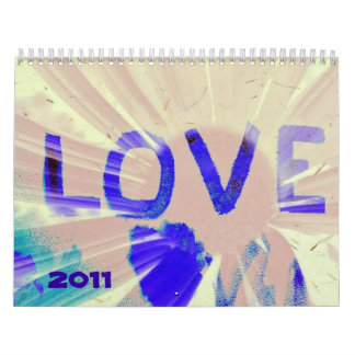 love, 2011 calendar