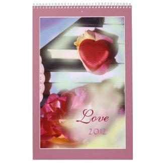 Love 2012 wall calendar