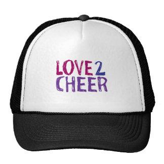 Love 2 Cheer Trucker Hat