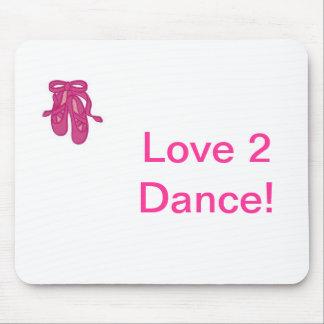 love 2 dance mouse pad