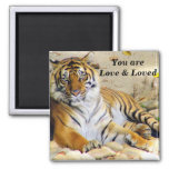 Love_ 2 Inch Square Magnet