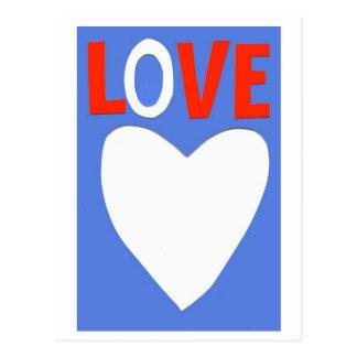 LOVE 2 POSTCARD