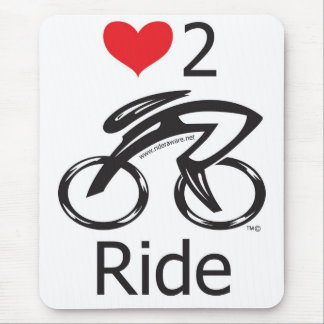 Love 2 Ride Mouse Pad