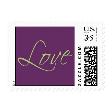 AyleighDesigns Love 34 cent Postage Stamp