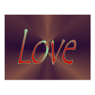 Love 3 Postcard