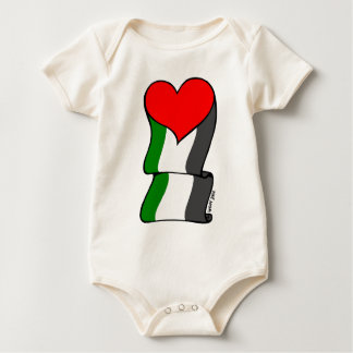 Love 4 Palestine! Baby Bodysuit