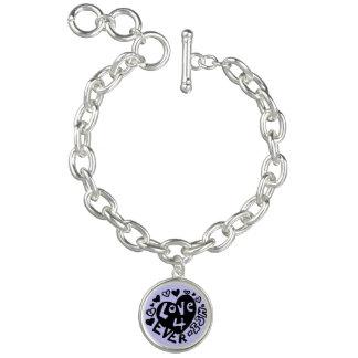 Love 4Ever Ish Charm Bracelet | Custom Color