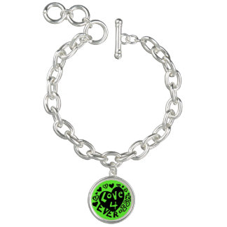 Love 4Ever Ish Charm Bracelet | Green