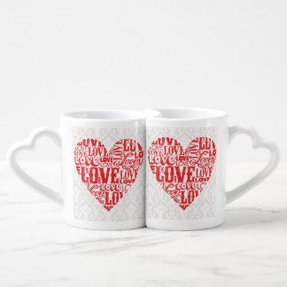 Love 6-8 Options Coffee Mug Set