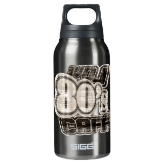 Love 80's Cafe Vintage- Insulated Water Bottle